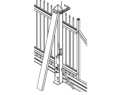 bramy przesuwne bramex łopatka skierniewice